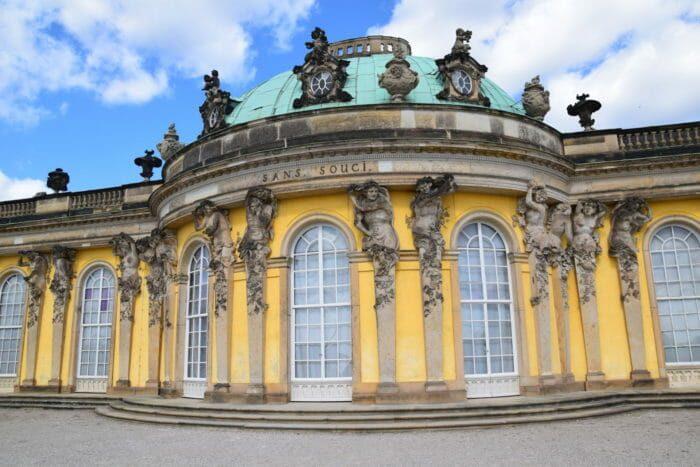 Schloss Sanssouci, Park Sanssouci, Potsdam, Schloss, Tickets, Parken