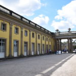 Rückseite - Schloss Sanssouci im Park Sanssouci