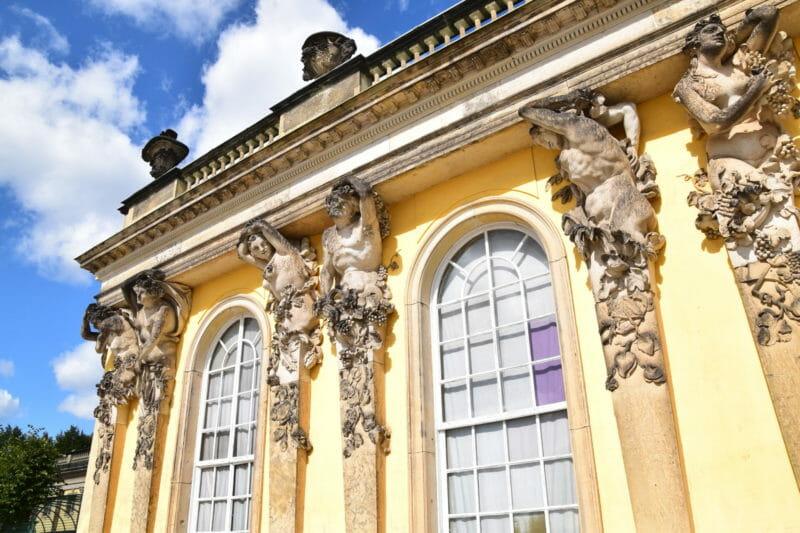Schloss Sanssouci Tickets Eintrittskarten Touren