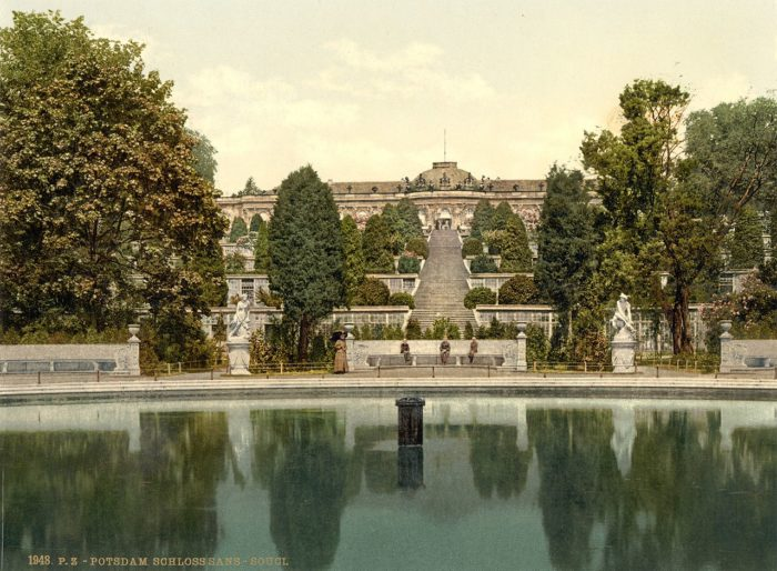 Schloss Sanssouci, Weinbergterassen, Potsdam