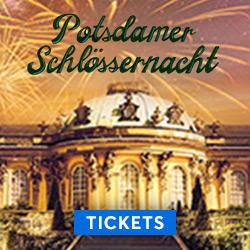 Potsdamer Schlössernacht, Sanssouci, Schloss Sanssouci