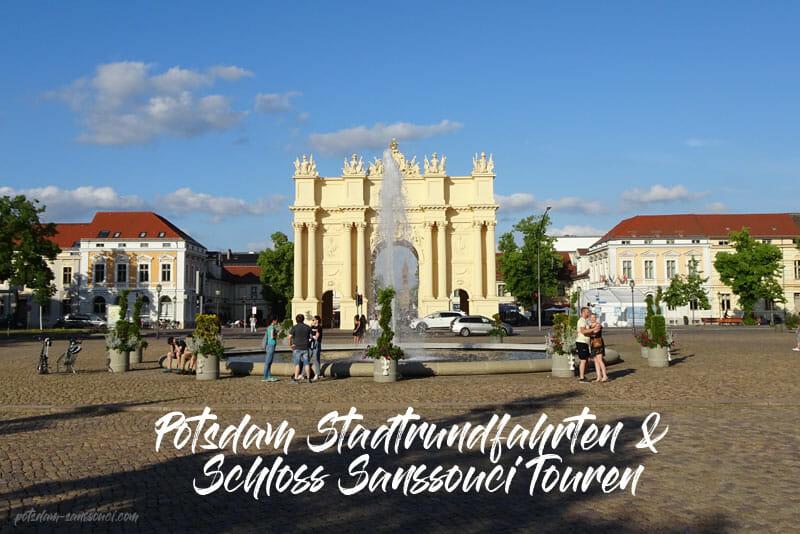 Potsdam, Sanssouci, Schloss Sanssouci, Stadtrundfahrt
